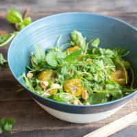 Salade de prunes au Thermomix et cacahuètes
