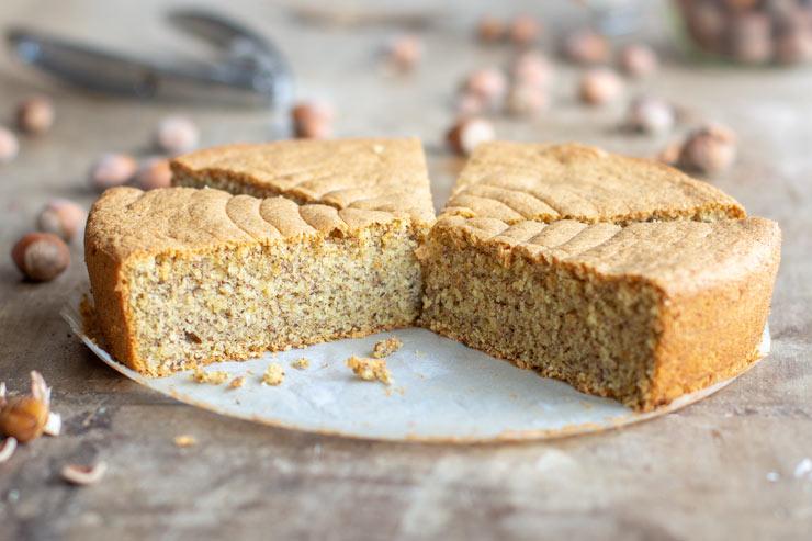Gâteau moelleux aux noisettes au Thermomix