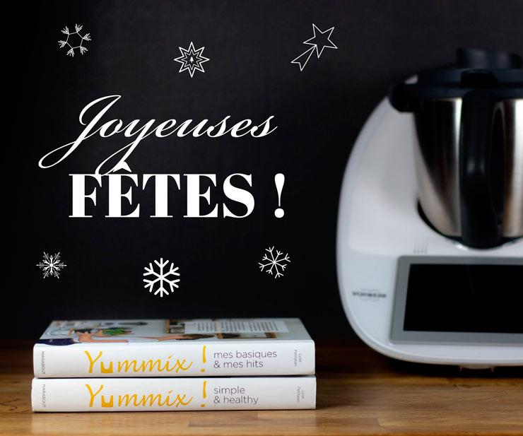 Livres Thermomix Yummix joyeuses fêtes