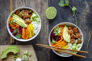 Poke bowl au Thermomix
