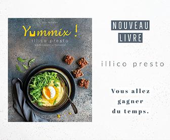 Nouveau livre Thermomix illico presto