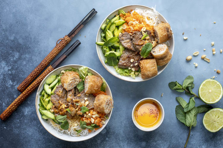 salade Bo Bun au Thermomix