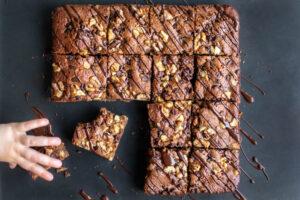 brownie chocolat au lait gourmand au Thermomix
