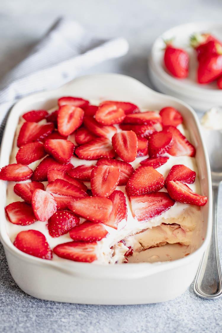 Tiramisu fraises au Thermomix