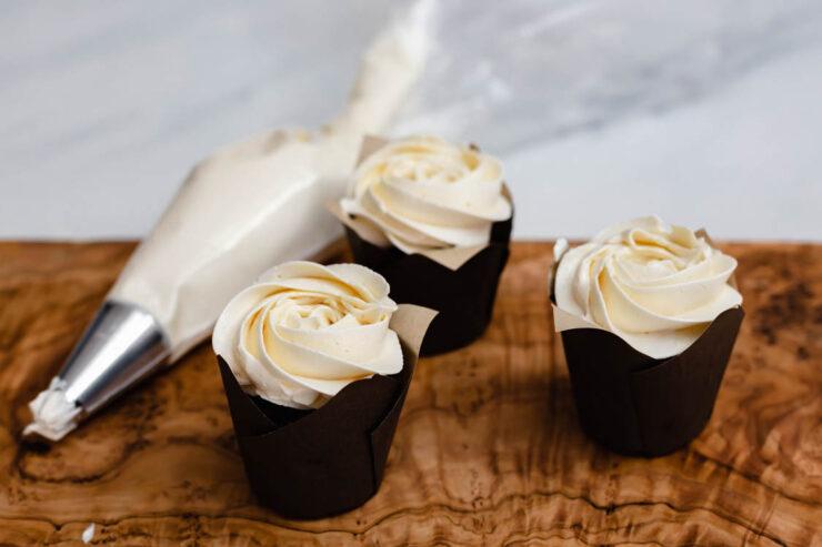 Crème au beurre à la meringue suisse au Thermomix