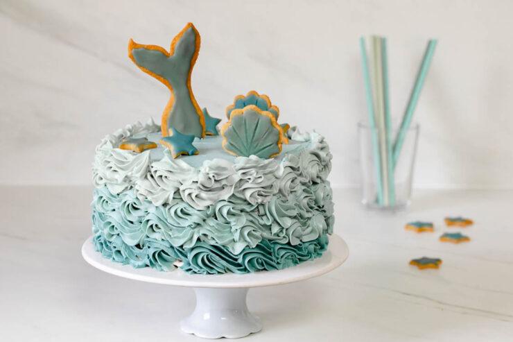 Gâteau sirène au Thermomix