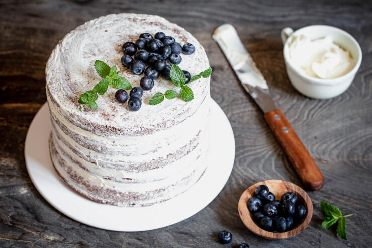 Naked cake au Thermomix