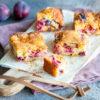Gâteau aux prunes au Thermomix fondant et croustillant