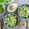 Salade de quinoa verde